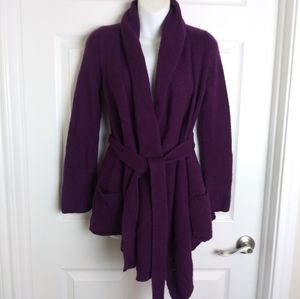 Anthropologie Sparrow belted cardigan